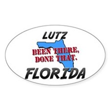 lutz florida - been there, done that Decal