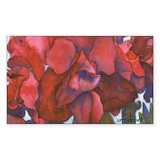 Amaryllis Rectangle Sticker 50 pk)