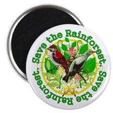 Save the Rainforest v5 Magnet