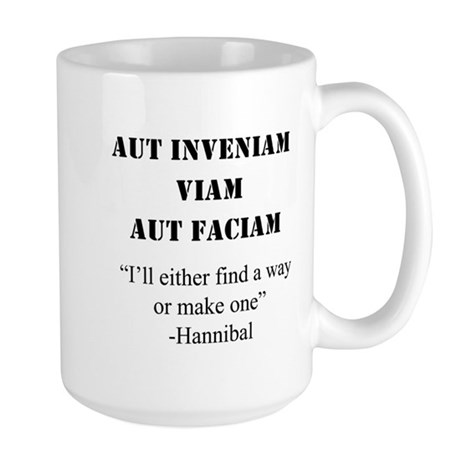 """Find A Way"" Large Mug"
