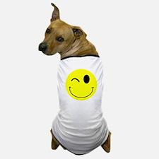 Winking Smiley Dog T-Shirt
