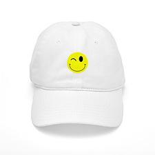 Winking Smiley Baseball Cap