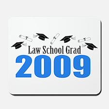 Law School Grad 2009 (Blue Caps And Diplomas) Mous