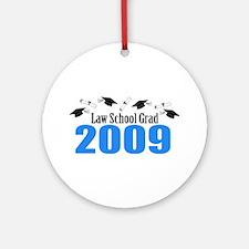 Law School Grad 2009 (Blue Caps And Diplomas) Orna
