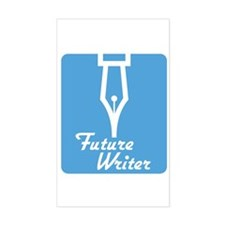 Future Writer Rectangle Decal