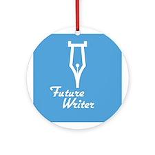 Future Writer Ornament (Round)