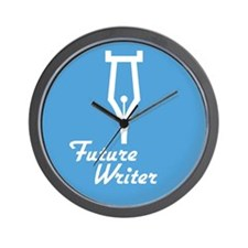 Future Writer Wall Clock
