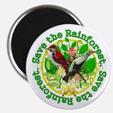 Save the Rainforest v2 Magnet