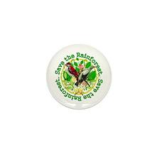 Save the Rainforest v2 Mini Button