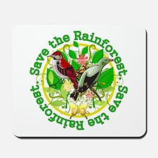 Save the Rainforest v2 Mousepad