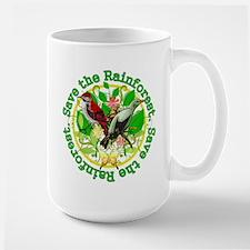 Save the Rainforest v2 Large Mug