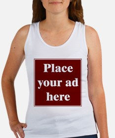 Place Your Ad Here Women's Tank Top