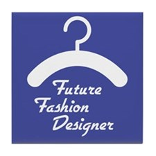 Future Fashion Designer Tile Coaster