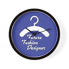 Future Fashion Designer Wall Clock