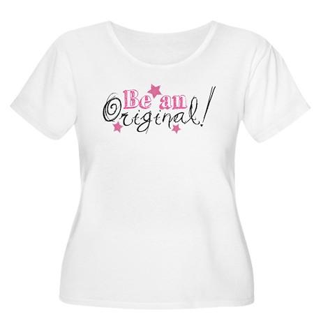 Be An Original Women's Plus Size Scoop Neck T-Shir