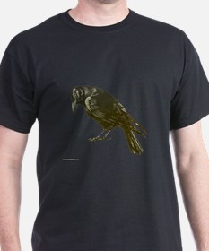 Mondo Crow Black T-Shirt