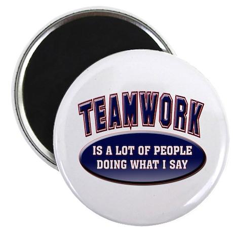 "Teamwork 2.25"" Magnet (10 pack)"