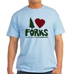 I Heart Forks, WA - Twilight Light T-Shirt