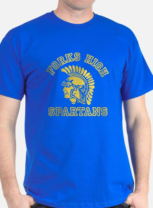 Forks high school t shirts shirts tees custom forks for Custom school t shirts