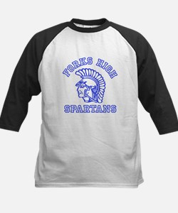 Forks High Spartans - Twilight Kids Baseball Jerse