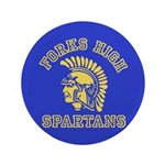 "Forks High Spartans - Twilight 3.5"" Button"