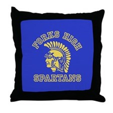 Forks High Spartans - Twilight Throw Pillow