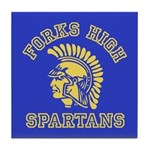 Forks High Spartans - Twilight Tile Coaster