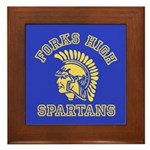 Forks High Spartans - Twilight Framed Tile
