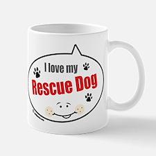 Love Rescue Dog Mug