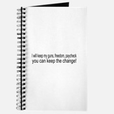 Keep The Change Journal