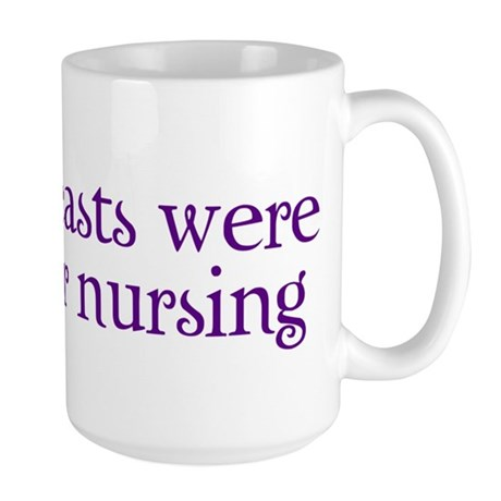 Made for Nursing - Large Mug