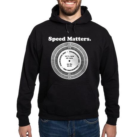 Speed Matters Hoodie (dark)