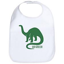 Go Green Dinosaur Bib