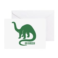 Go Green Dinosaur Greeting Cards (Pk of 10)