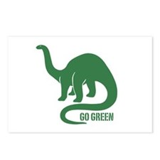 Go Green Dinosaur Postcards (Package of 8)