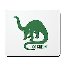Go Green Dinosaur Mousepad