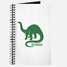 Go Green Dinosaur Journal