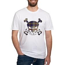MacRae Tartan Skull Shirt