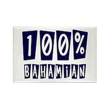 100% Bahamian Rectangle Magnet