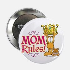 """Mom Rules! 2.25"""" Button"""
