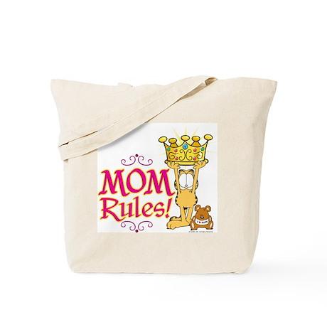 Mom Rules! Tote Bag