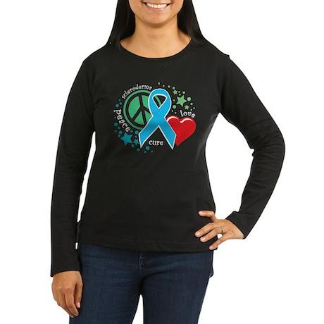 Scleroderma PLC Women's Long Sleeve Dark T-Shirt