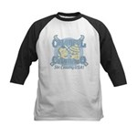 Colorful Colorado Ski Country USA Kids Baseball Je