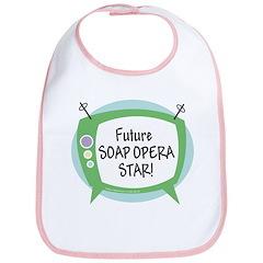 Future Soap Opera Star Bib