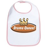 Vintage Drama Queen (Girls) Bib