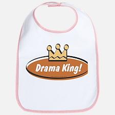 Vintage Drama King (Boys) Bib
