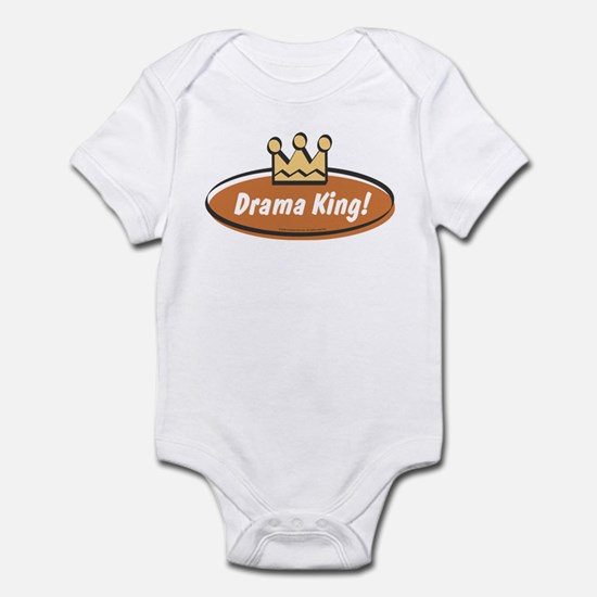 Vintage Drama King (Boys) Infant Bodysuit