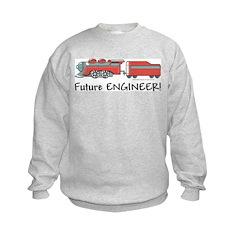 Future Train Engineer Sweatshirt
