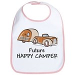 Future Happy Camper Bib