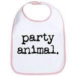Party Animal Bib